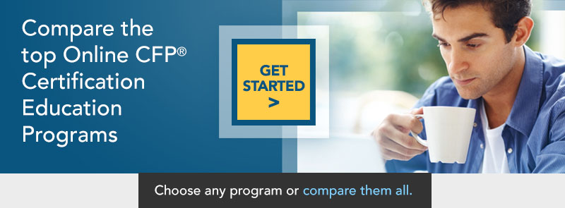 Compare the top CFP Certification Online Education Programs